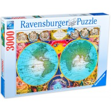 Ravensburger 3000 - Ancient map of the world