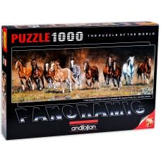 Anatolian  1000  - Leisure Time, Kim Penr, - Panorama Puzzle